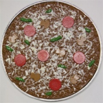 Traditional Chocolate Pizza Pie