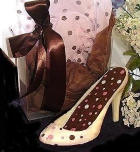 Pink & Brown Chocolate Shoe