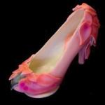 Pink Flamingo Chocolate Shoe