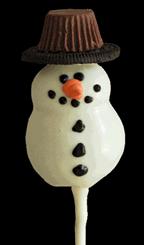 Snowman Chocolate Lollipop (Cake)