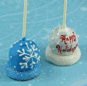 Mini-cakes Chocolate Lollipops